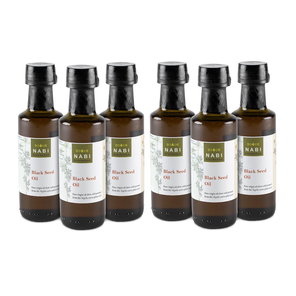 Black Seed Oil Virgin 600 Ml Cold Pressed Nabi Black
